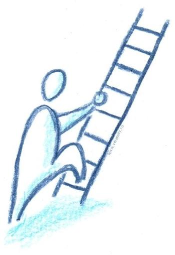 Рисунок Обучение закупкам - лестница вверх